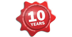 10 year boiler guarantee
