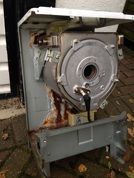Vaillant internal boiler corrosion