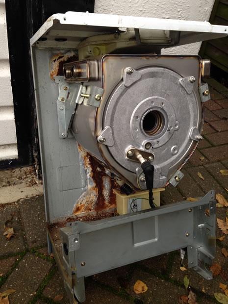 Vaillant internal boiler corrosion